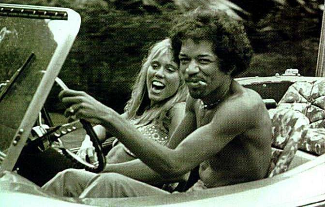 Jimi Hendrix Dune Buggy