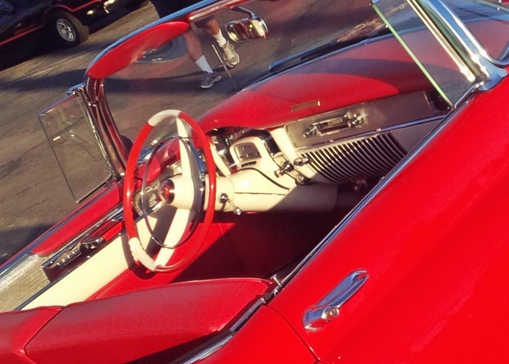 53 Cadillac Interior