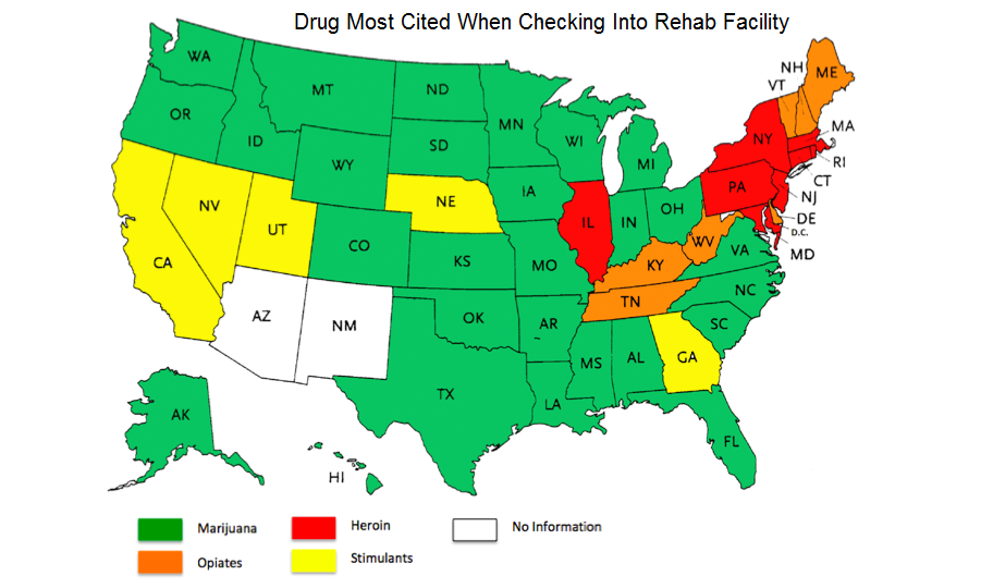 Illegal Drugs By State