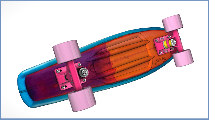 Skateboard-Design