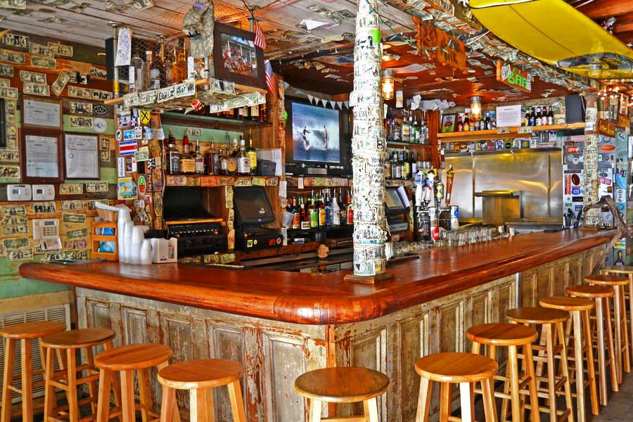 ... Surf Bar Welcomes Locals And Visitors Alike With Tasty Food, Cold  Beverages, Chill Surf Films And The Best Live Music On Folly Beach With No  ...