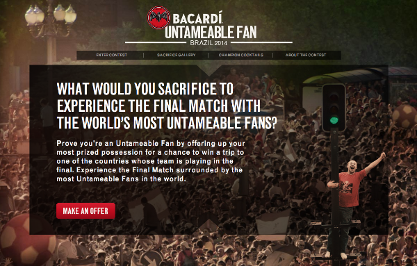BACARDI Untameable Fan