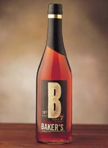 Bakers Bourbon Bottle