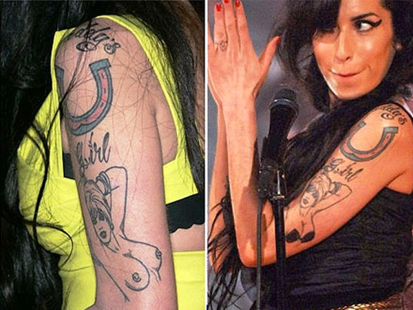 History of Tattoo - Amy Winehouse