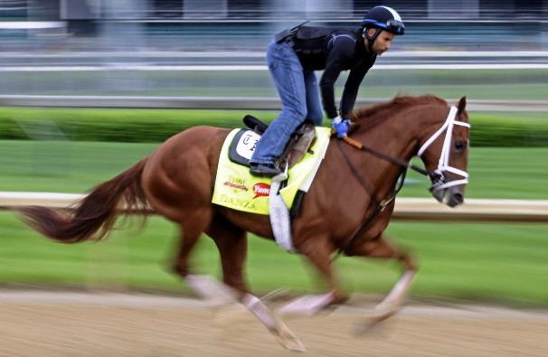 Kentucky_Derby_Horse_Danza