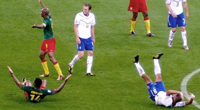 Soccer FIFA Flopping
