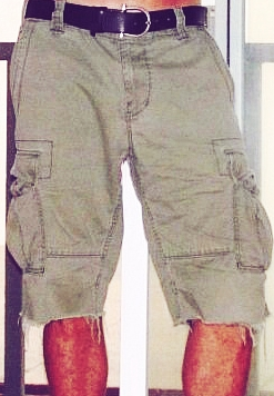 Mens shorts cargo pants