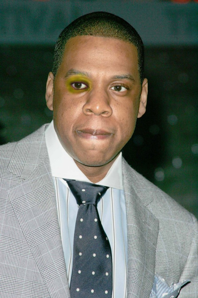 Jay Z Black Eye Elevator