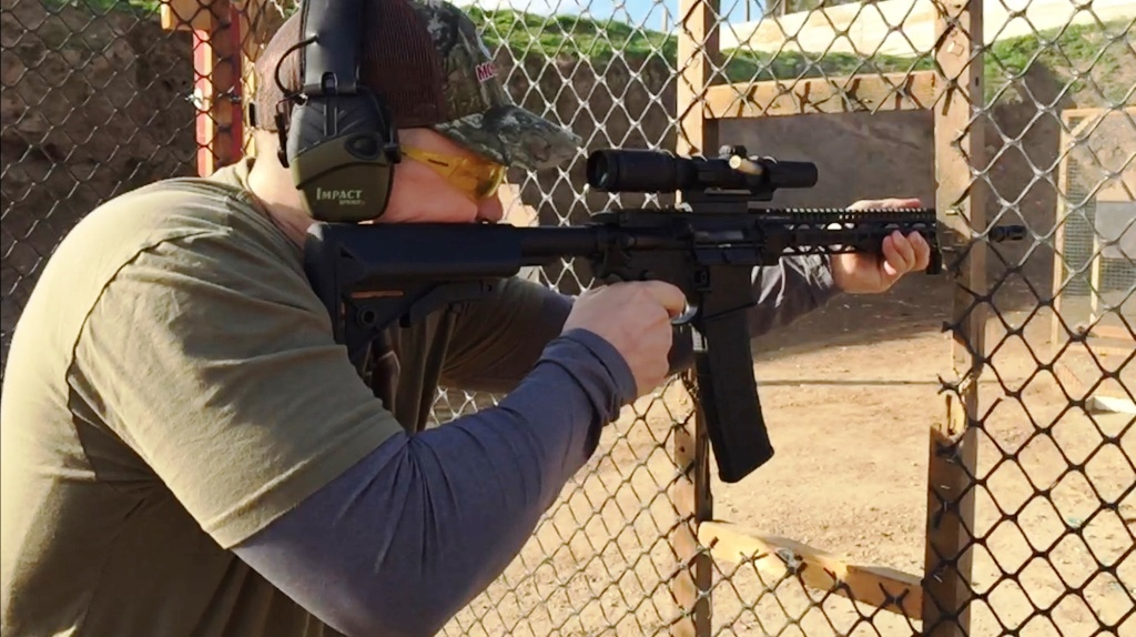 Steve Howey Shameless Gun Range