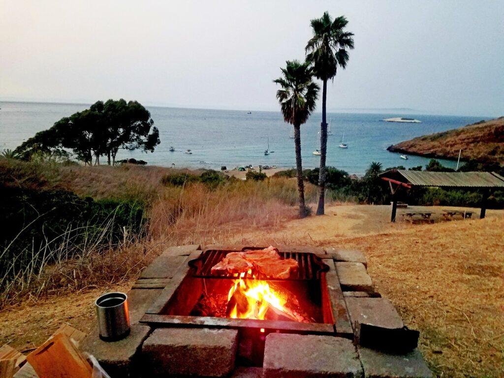 california-beach-camping