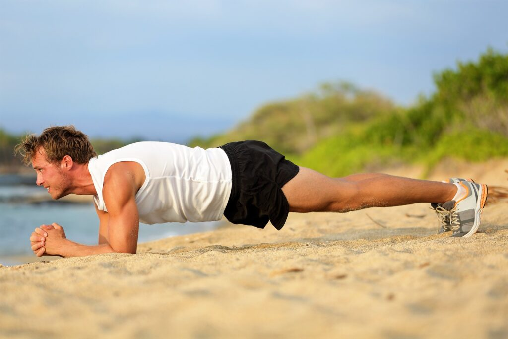 ab-exercises-home-plank