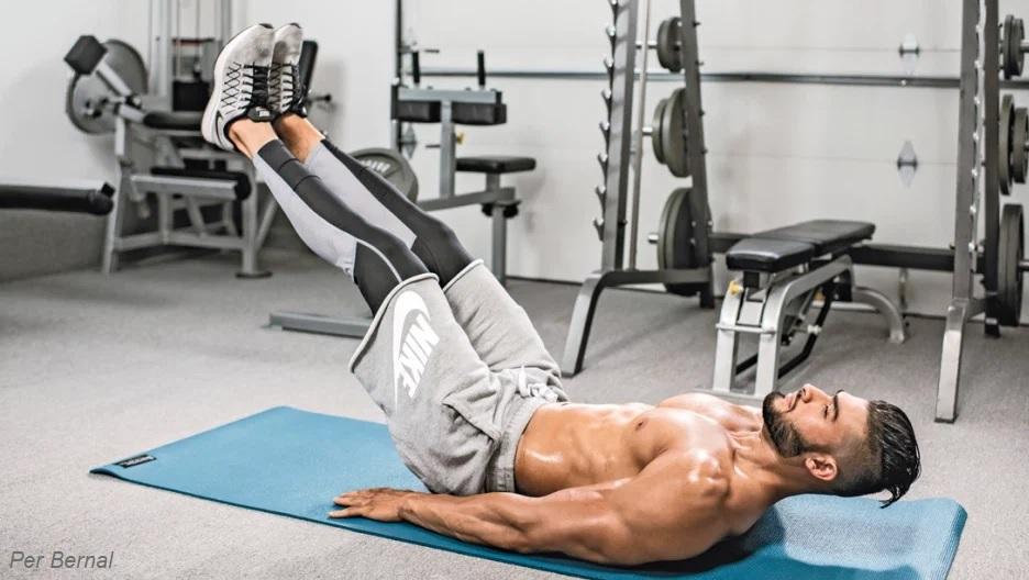 home-ab-exercise-leg-lift