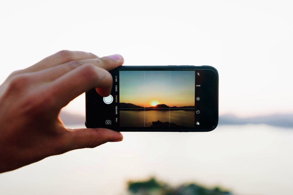 how to take good pictures with smart phone