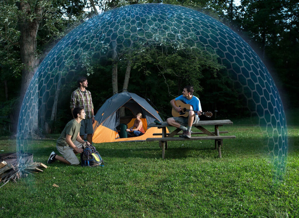 new camping gear mosquito repellant tent